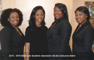 Black Law Student Association 2015-2016