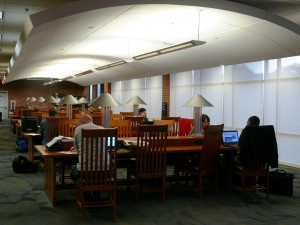 NCCU Law Library Reading Room